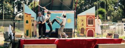 Percival Perkins, Meekins & Thumper in brawl on the streets of Verona
