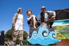 Jaguar, Tortoise and Hedgehog in O Best Beloved - August 2014